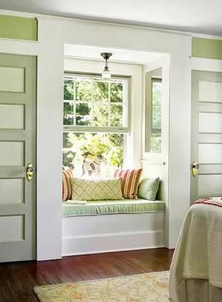 增加了一点点空间  10款卧室飘窗装修图5/10