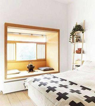 增加了一点点空间  10款卧室飘窗装修图6/10