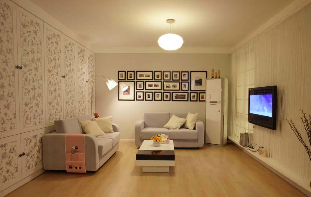 现代风格客厅装修效果图 淡雅时尚现代客厅装修