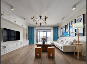120平混搭风格三居室装修 出彩的设计