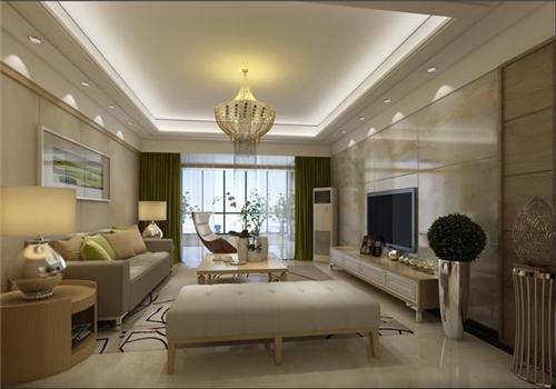 仿木地板瓷砖好不好 客厅墙壁贴防木瓷砖效果图