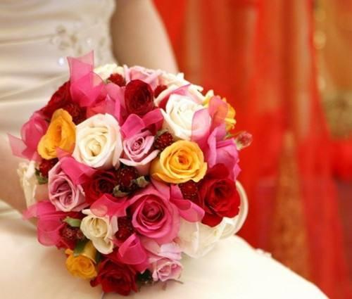 新娘手捧花图片鲜花 新娘手捧花制作方法步骤