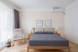 120㎡日式风两居室卧室效果图