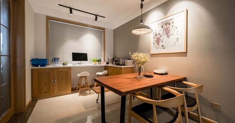 三室两厅大户型装修餐厅效果图