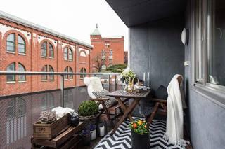 休闲阳台设计装修图片
