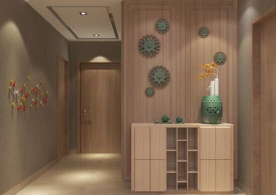 上海2018玄关设计效果图 玄关如何设计更漂亮
