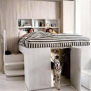 一居室卧室装修欣赏图