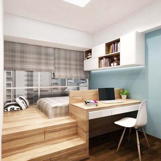 Ikea Small Home Office Ideas For Men: 卧室装修平面图_卧室装修平面图画法