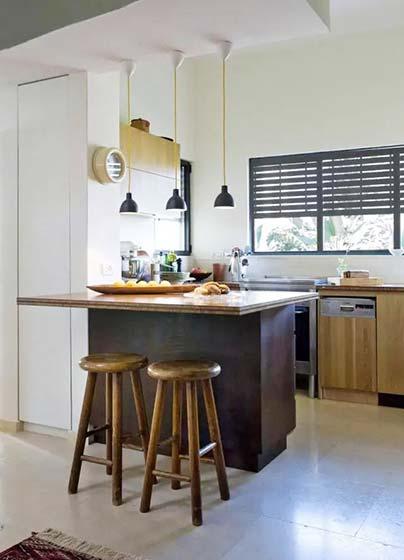 开放式厨房设计实景图