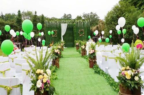 森系婚礼布置技巧 婚礼布置的细节很重要图片
