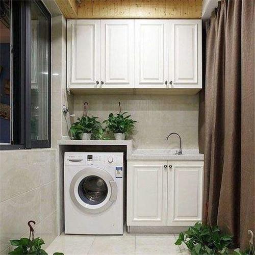 客厅阳台储物柜尺寸有哪些 小阳台柜子储物柜图片欣赏图片