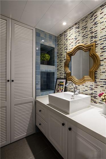 100平米旧房改造装修浴室图片