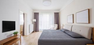 120平日式风格装修卧室效果图