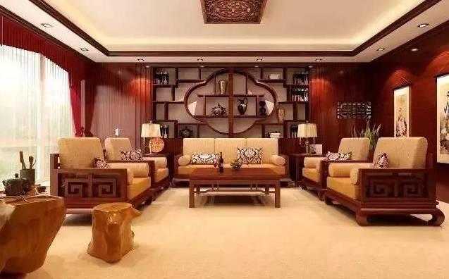 中式风格装修效果图大全 穿越明清的书香灵感
