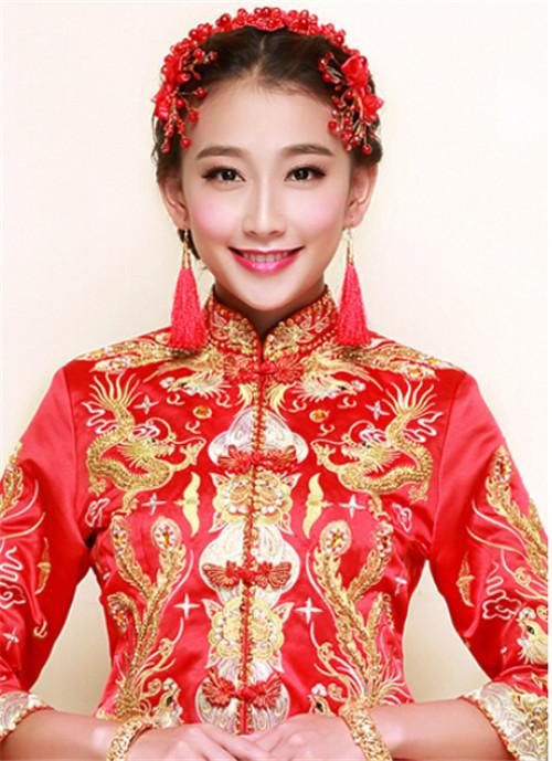 秀禾新娘发型图片欣赏 让咱们头顶凤冠风光出嫁