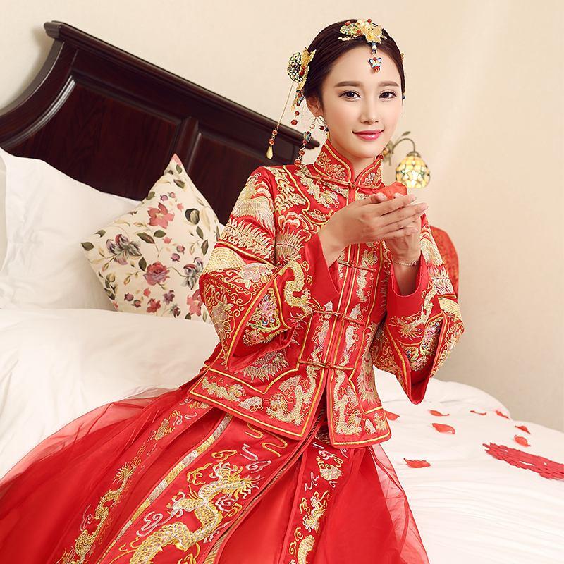 长沙秀禾服出租教您结婚时秀禾服什么时候穿