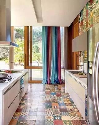 厨房花砖设计构造图