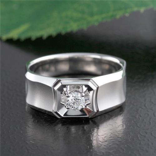 男士白金戒指价格是多少 男士白金戒指款式有哪些 全文图片