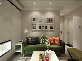 宜家风格两居室装修 富有青春的气息
