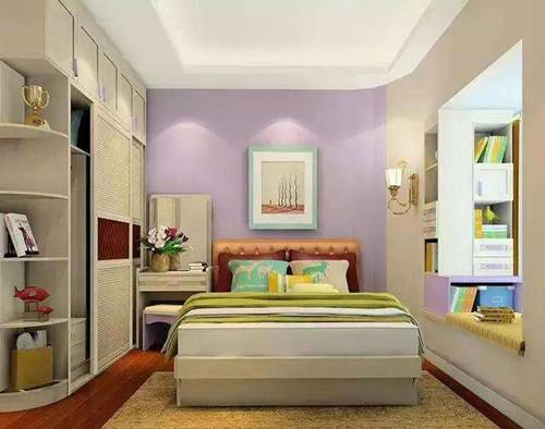 资讯 学堂 装修施工 施工流程 正文  卧室空间要大,这样住起来才更加