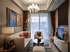 80平法式风格装修 奢华两居室