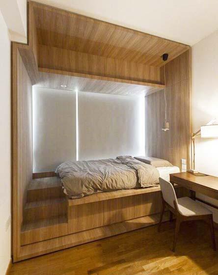 小户型卧室装修参考图