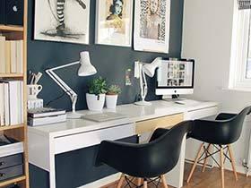 家庭负责人  10款家庭工作室装修图