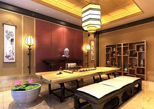 中式茶室装修效果图 创造一个舒适的饮茶环境图片