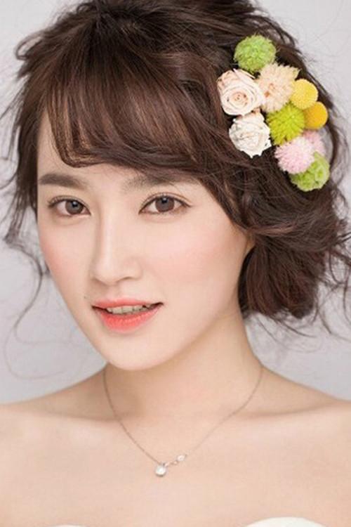 韩式妆容图片 韩式新娘妆面特点描述_新娘造型_婚庆图片