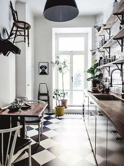 小户型厨房装修装饰效果图
