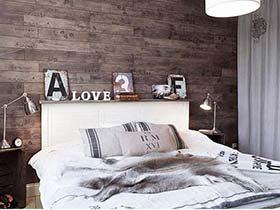 完美背后  10款卧室背景墙设计图