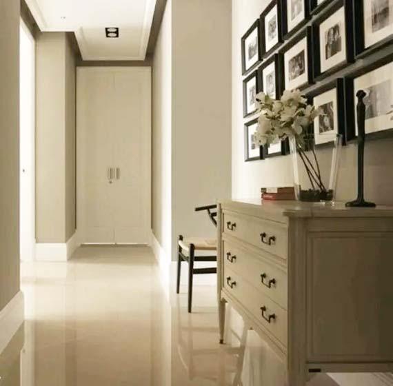 走廊装饰柜设计实景图
