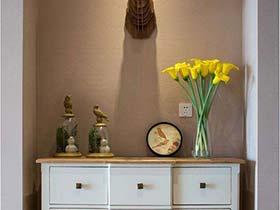 家居亮点  10款走廊装饰柜图片