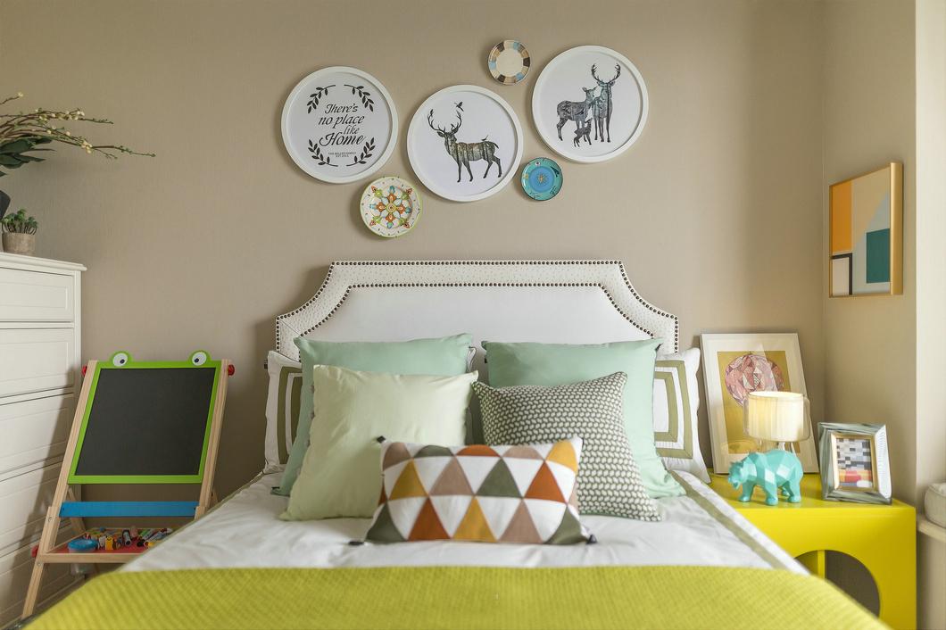 法式风格别墅装修样板间儿童房效果图
