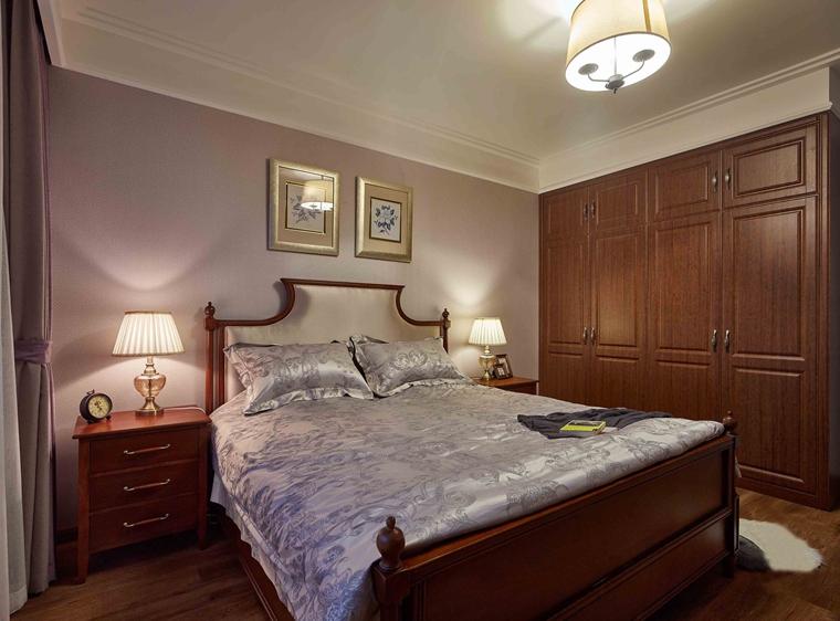 法式风格装修效果图卧室效果图