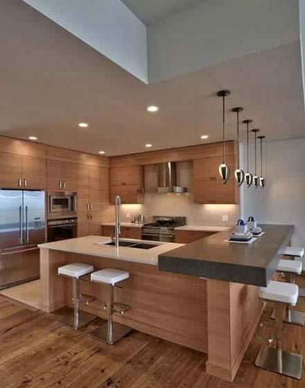 厨房收纳布置平面图