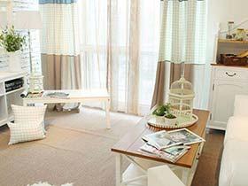 朦胧之美  10款室内窗帘搭配设计图