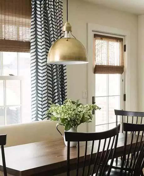 室内窗帘搭配设计平面图