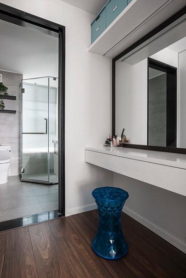 110平简约风格两居室装修效果图卫生间装潢图