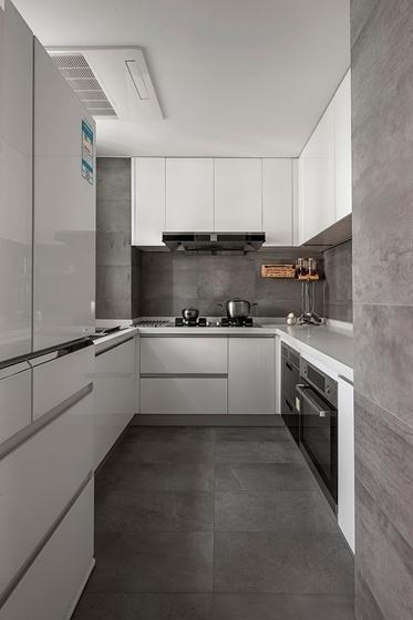 110平简约风格两居室装修效果图厨房装潢图