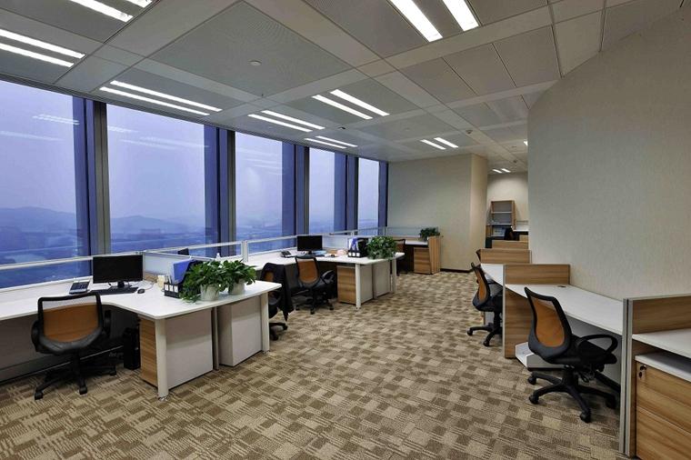 豪华办公室装修效果图公共办公室区域
