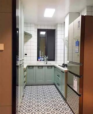 厨房地砖装修装饰效果图