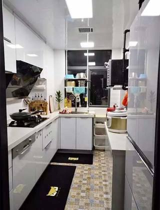 厨房地砖布置摆放图