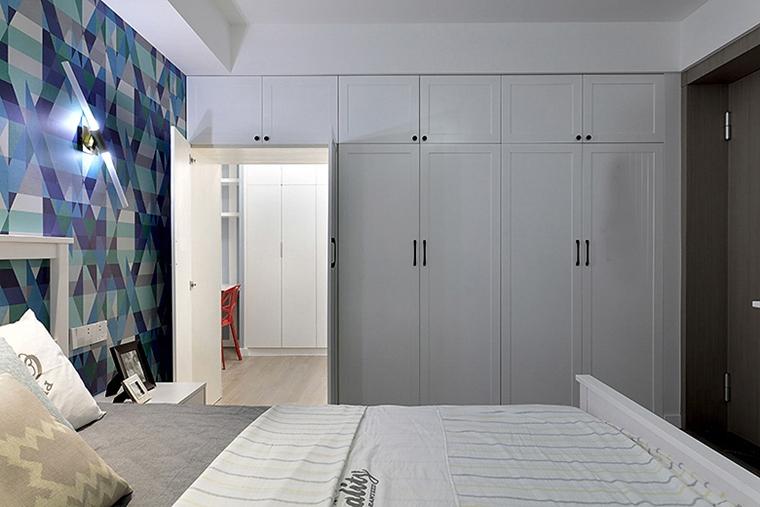 100平宜家风格装修效果图整体衣柜