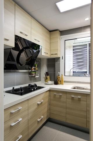 95平日式风格装修厨房效果图