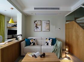95平日式风格装修  让家变得简洁