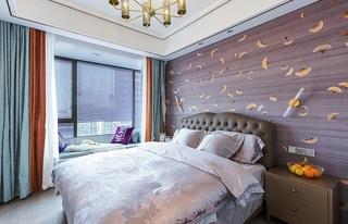 单身公寓现代简约风格装修卧室图片