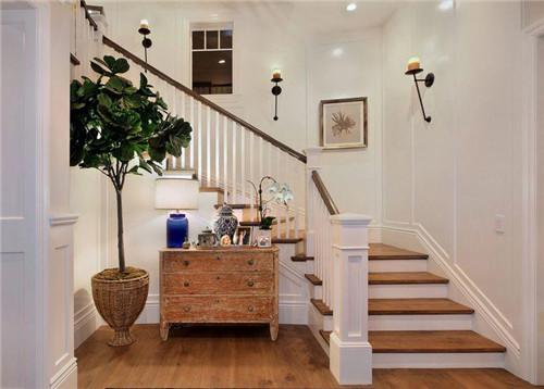 楼梯过道装修效果图 教你打造美观又实用的过道