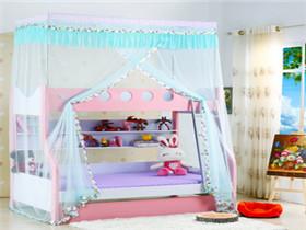 儿童上下床蚊帐多少钱 儿童双层床用哪种蚊帐好