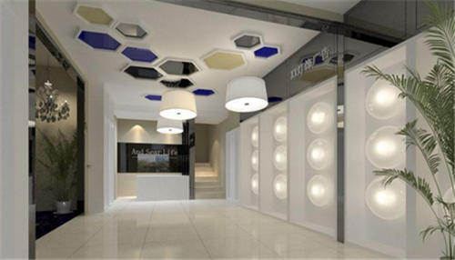 灯饰店装修效果图 怎么安装灯饰店的灯具图片
